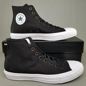 Converse Chuck Taylor All Star 2 Skate Shoes Black
